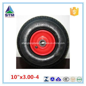 10 Inch Plastic Rim Air Rubber Wheel pictures & photos