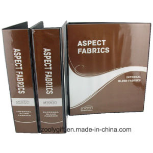 """Customized Logo Printing 3 """" PVC File Folder with 4 D Ring Binder pictures & photos"""
