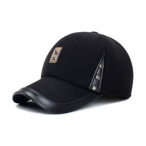 Solid Genuine Leather Baseball Cap pictures & photos