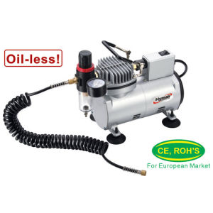 1/8 HP Oiless Airbrush Compressor (AS18M) pictures & photos