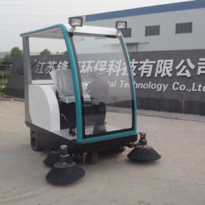 Driving Type Electric Road Sweeper for Goverment Environmental Protection