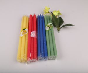Flameless Colorful Stick Pillar Candles Party Birthday pictures & photos
