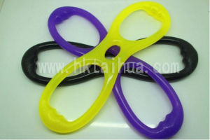 OEM High Quality Chest Developper Body Pull Rope Exercise Anytime Silicone Stretch Rope pictures & photos