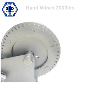 2000lbs Hand Winch Zinc Plated pictures & photos