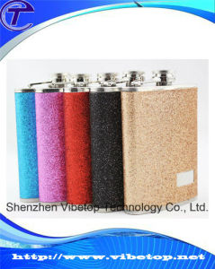 High Quality Stainless Steel Frosted Mini Hip Flask Vf-210 pictures & photos