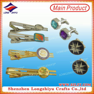 Fashion Fancy Cheap Custom Funny Cufflinks Tie Clips 3D Design pictures & photos