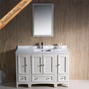 "Fed-1071 60"" Single Rectangle Cupc Sink Solid Wood Hot Sales Bathroom Cabinets pictures & photos"