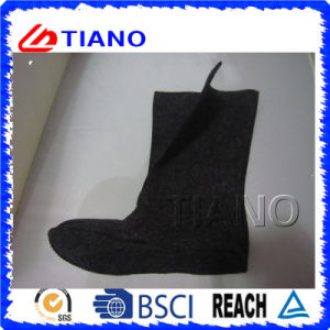 Men Snow Boots with Printing with Fleece Lining (TNK60021) pictures & photos
