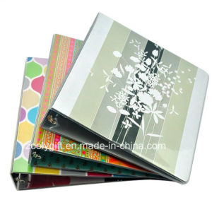 "Customized Printing 1 "" A4 PVC File Folder with 3 Ring Binder pictures & photos"