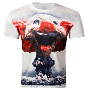 Customize Personal Design 3D Digital Printing Men Tees for Men pictures & photos