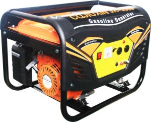 3000W Copper Wire Portable Electric/Recoil Power Gasoline Generator pictures & photos