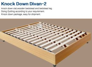 MDF Slat Knock Dwon Divan Bed