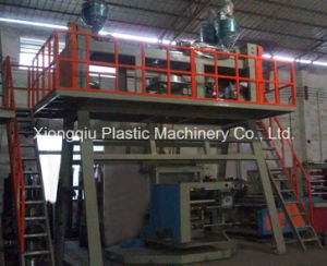 3 Layers Co-Extrusion PP Film Blowing Machine pictures & photos