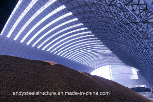 Industrial Prefabricated Steel Structure Space Frame Coal Storage Shed pictures & photos
