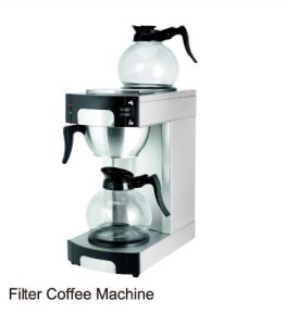 Commercial Filter Coffee Machine with Glass Coffee Pot (RCG1001) pictures & photos