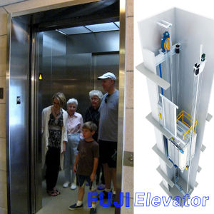 FUJI Low Cost Passenger Lift for Small Homes Without Machine Room pictures & photos