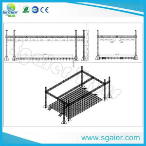 """Square Truss 290*290mm 12"""" as Pitched Roof Truss pictures & photos"""
