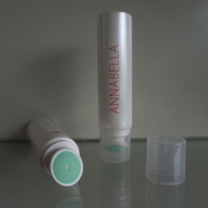 "40mm (1 9/16"") Plastic Round Tube with Brush Applicator for Cosmetics Packaging pictures & photos"
