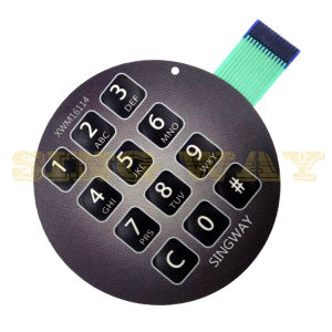 High Quality Membrane Switch with Metal Dome by Singway pictures & photos