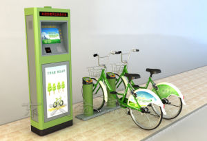 Public Bicycles-Olive Drab Standard Type Central Control Cabinet pictures & photos