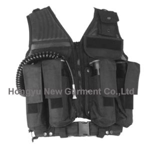 Police Multi Pocket Tactical Vest pictures & photos