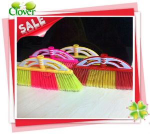 Colorful and Good Quality Plastic Broom, Kc019 pictures & photos