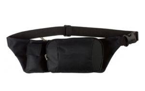Promotional Black Waist Bag Bum Bag with Phone Holder pictures & photos