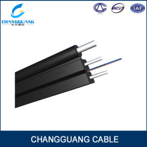China Factory Price Self-Supporting Bow-Type Drop Fiber Optic Cable with Low Smoke Zero Halogon Flame Retardant Sheath GJYXFCH Optical Fiber Cable pictures & photos