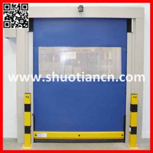 Electric Remote Control High Speed Plastic Door (ST-001) pictures & photos