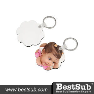 Bestsub Hardboard Promotional Sunflower Key Chain (MYA11) pictures & photos