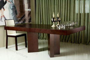 Custom Made Wooden Modern Dining Table (JP-T-025)