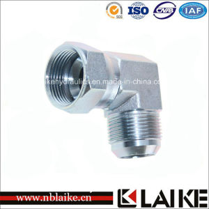 (2J9) Hydraulic Elbow Jic Male/Female Tube Adapter