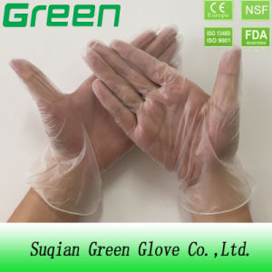 Clear Powder Free Medical Disposable Vinyl Gloves (AQL: 1.5/2.5/4.0) pictures & photos