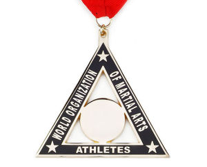 Custom Triangle Shape Athletics Hard Enamel Medallion pictures & photos