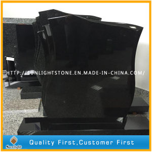 Black Customize Marble & Granite Headstone/Tombstone/Monument for European Style Funeral pictures & photos