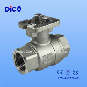 2PC High Platform Ball Valve with Locking Handle pictures & photos