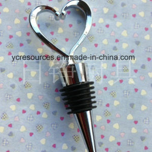 Heart Design Wine Stopper (HA38011) pictures & photos