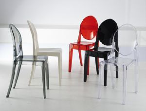 Wholesale Clear Crystal Mirage Plastic Chair with Great Price pictures & photos