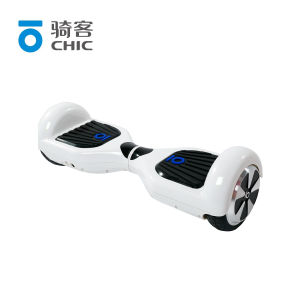 White Two Wheel Electric Self Balancing Skateboard Scooter