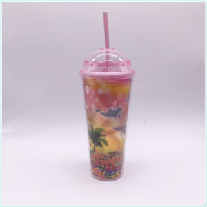 BPA Free Double Wall Plastic Travel Cup, Travel Mug (SH-PM35) pictures & photos