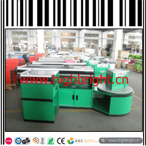 Retail Cashier Table Used in Supermarket with High Quality and Competitive Price pictures & photos