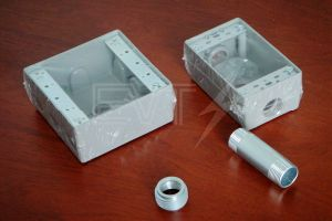 "3/4"" UL Standard Aluminum Round Weatherproof Box pictures & photos"