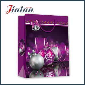 China Wholesale Christmas Sealable Paper Gift Bag pictures & photos