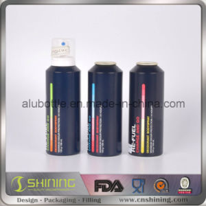 Aluminum Cosmetic Aerosol Bottle