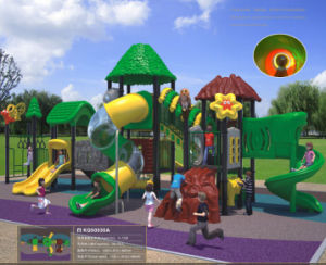 Kaiqi Meidum Sized Forest Treehouse Themed Outdoor Children′s Playground (KQ50030A) pictures & photos