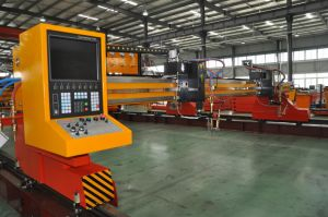 Heavy Duty Multiple Torch CNC Oxygen Fuel Flame Cutting Machine pictures & photos