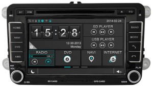 Car DVD GPS 1080P DSP Capactive Screen WiFi 3G Front DVR Camera for Witson Skoda Octavia III pictures & photos