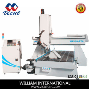 4 Axis CNC Router with Auto Tool Chnager pictures & photos