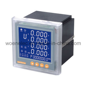 Three Phase LCD Display Multimeter pictures & photos