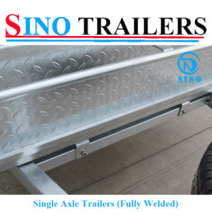 Fully Welded Trailers Box Trailer pictures & photos